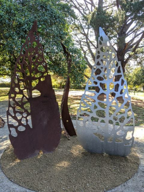 Geelong Cemeteries Trust - Autumn Leaves Sculpture